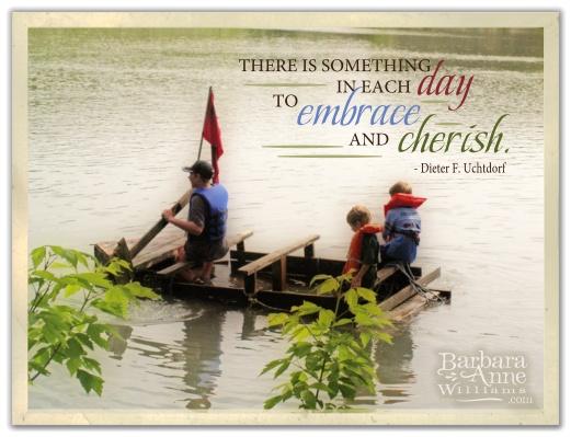 Embrace and Cherish | Barbara Anne Williams www.bitsofivory.com