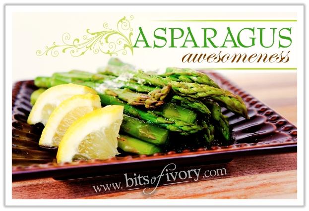 Asparagus Awesomeness | www.bitsofivory.com