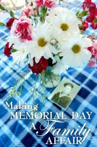 Making Memorial Day a Family Affair | www.bitsofivory.com