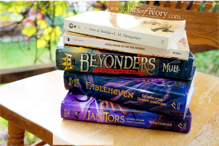 5 Book Series to inspire summer adventures | Janitors | www.bitsofivory.com