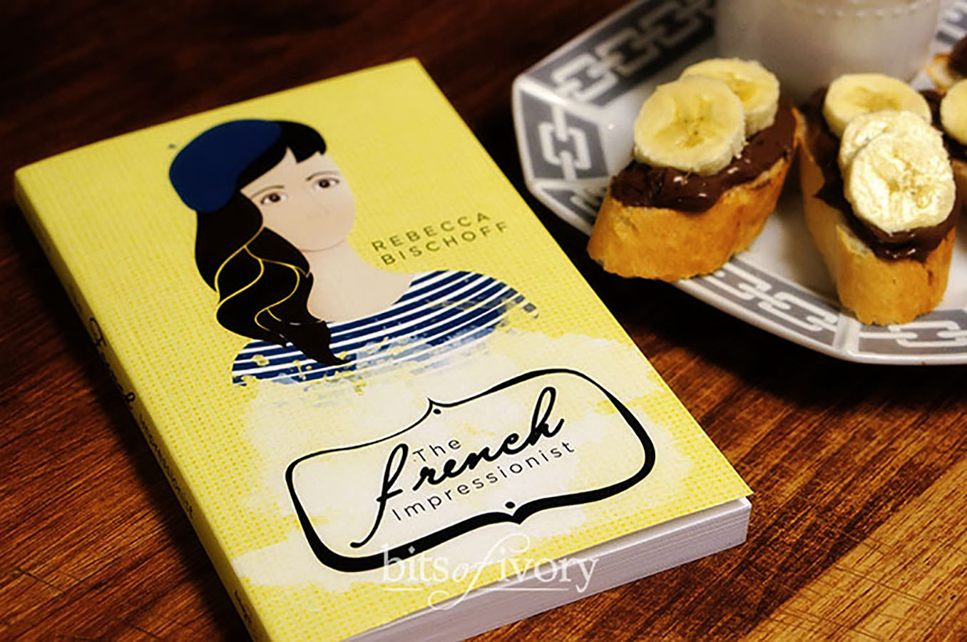 The French Impressionist by Rebecca Bischoff with Nutellas and Bananas | www.bitsofivory.com