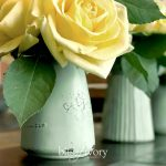 Chalk Paint repurposed old jars