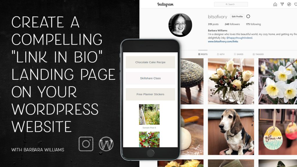 How to build a compelling link in bio landing page on your WordPress website